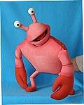Crabe ,  marionnette poupée