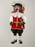 Mousquetaire, marionnette poupée