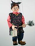 Servante , marionnette poupee