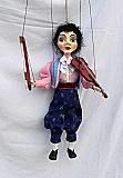 Violoniste  , marionnette poupée