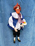 Peintre , marionnette poupée