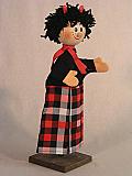 Diable , marionnette poupée