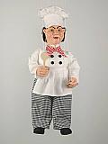 Cuisinier , marionnette poupée