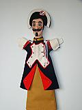 Gendarme, marionnette  poupée