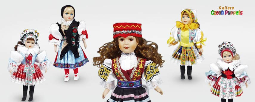 Poupées dans le costume national acheter sur marionnettes-poupees.com