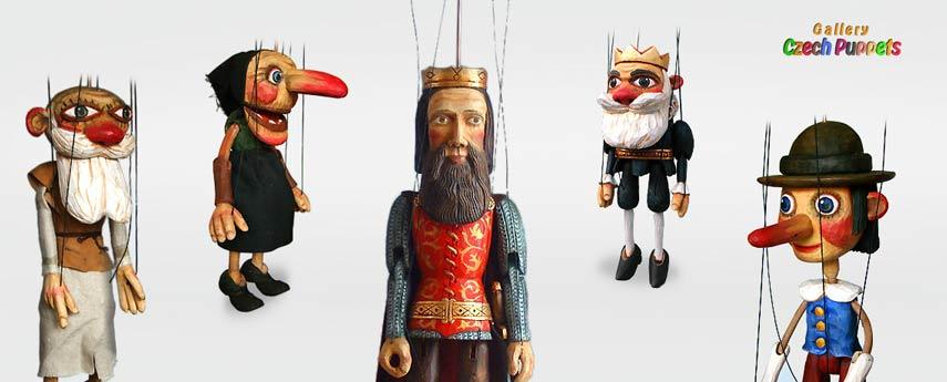 Marionnettes d'auteur acheter sur marionnettes-poupees.com