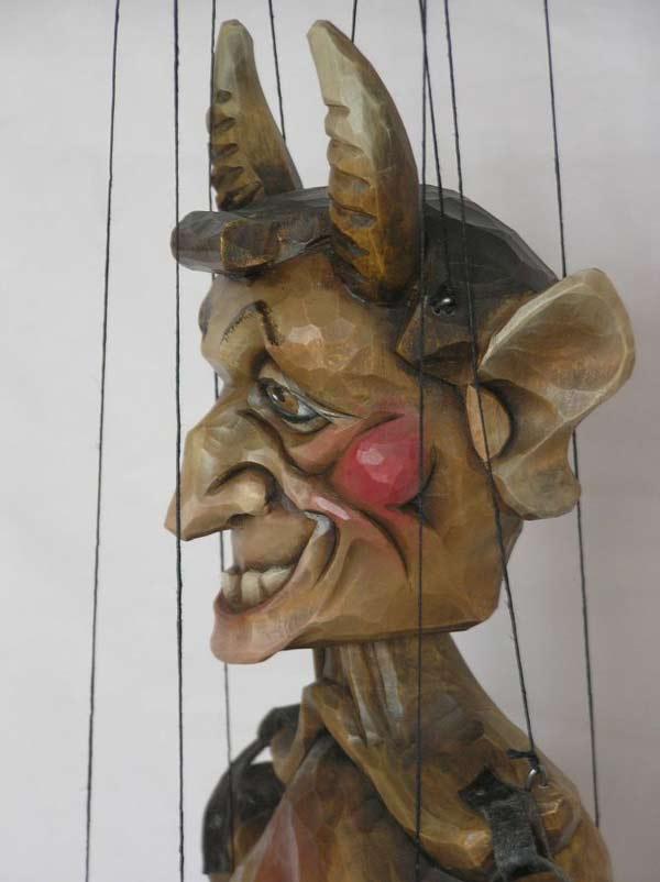 diable marionnette poup e acheter en ligne 50cm vk016 marionnettes la galerie. Black Bedroom Furniture Sets. Home Design Ideas