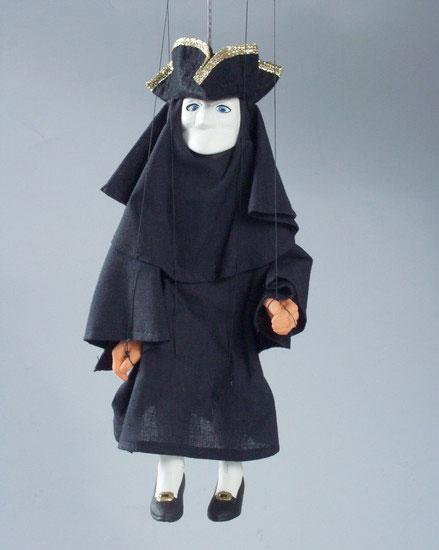 Bant Harlequin marionnette poupée
