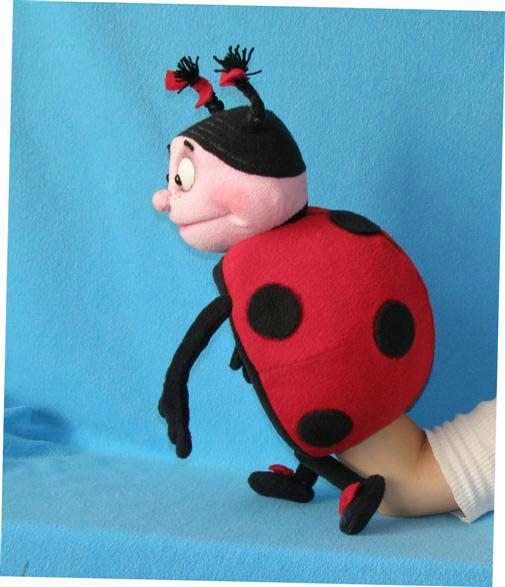 Bête marionnette poupée