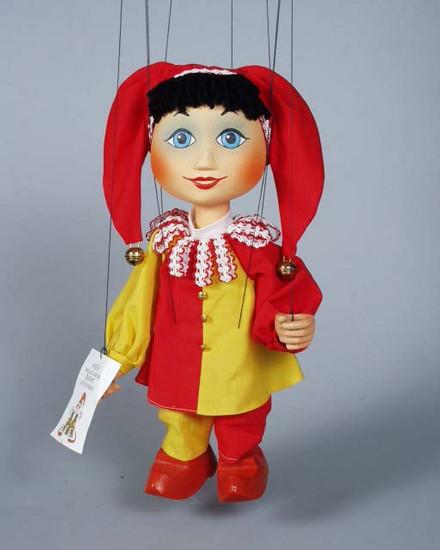 Bouffon marionnette poupée