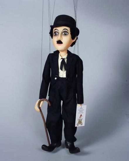 Chaplin marionnette poupée