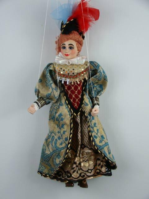Dame marionnette poupée