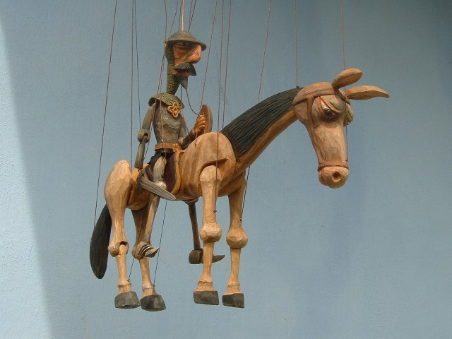 Don Quichotte marionnettes