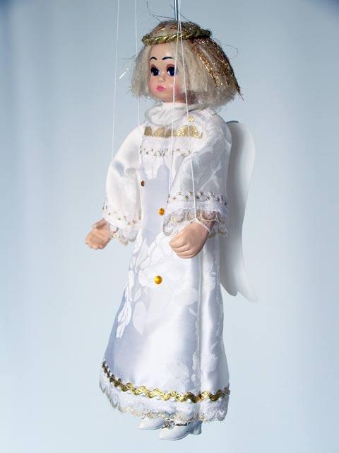 Ange marionnette poupée