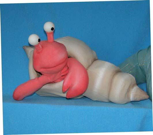 Ermite-Chasse marionnette poupée