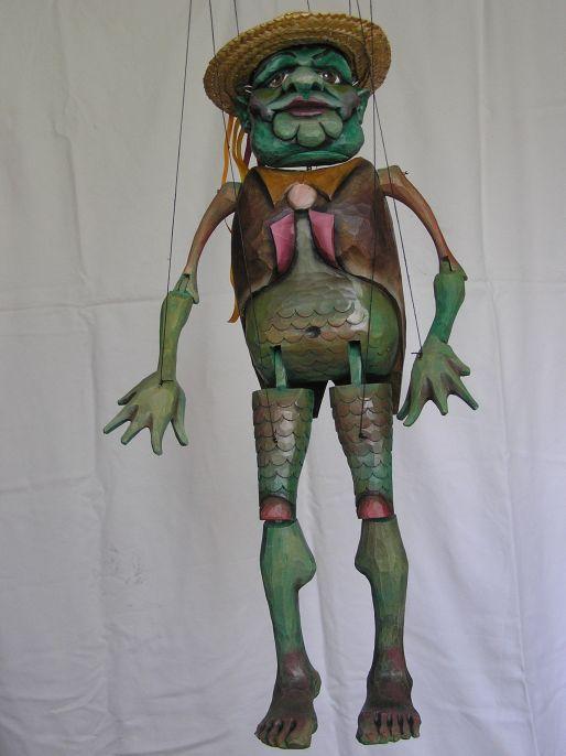 Esprit eaux marionnette poupée