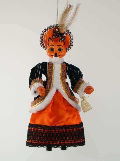 Maître Renard, marionnette poupée