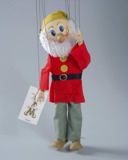 Gnome marionnette poupée