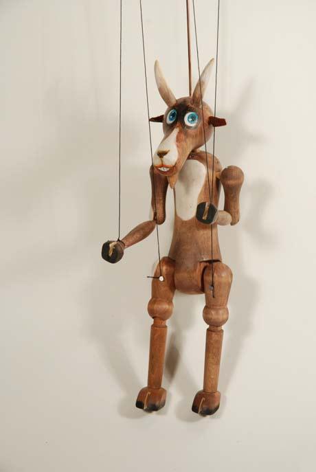 Bouc marionnette