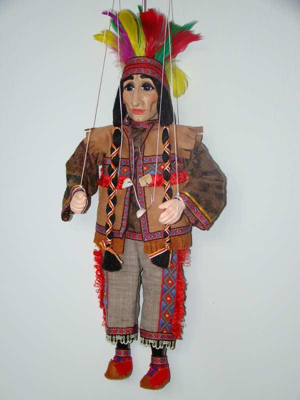Indien marionnette poupée