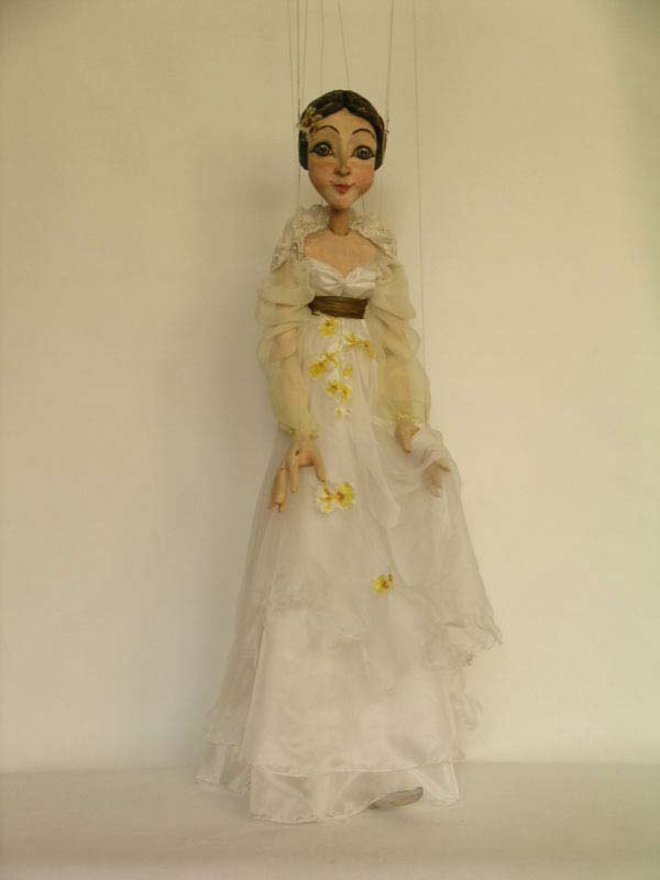 Joséphine de Beauharnais marionnette poupée