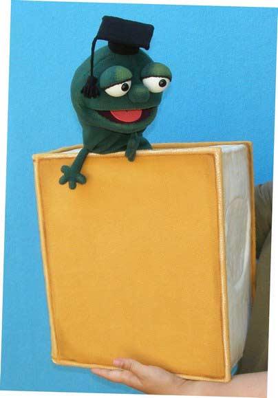 Livre Ver marionnette poupée