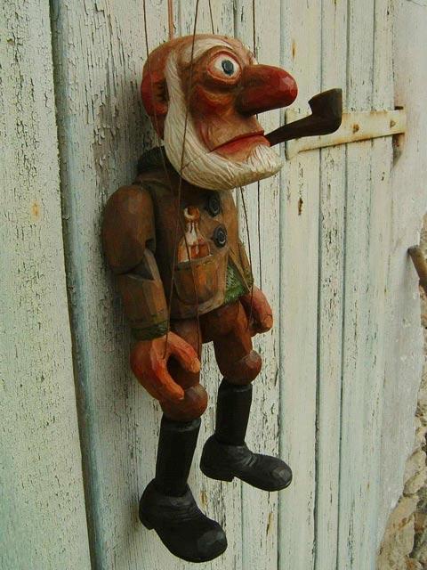 Marin marionnette poupée