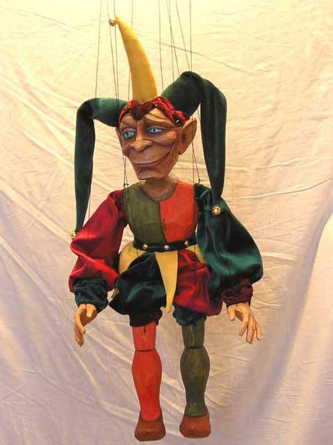 Paillasse marionnette poupée