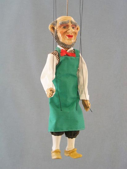 Paysan marionnette poupée