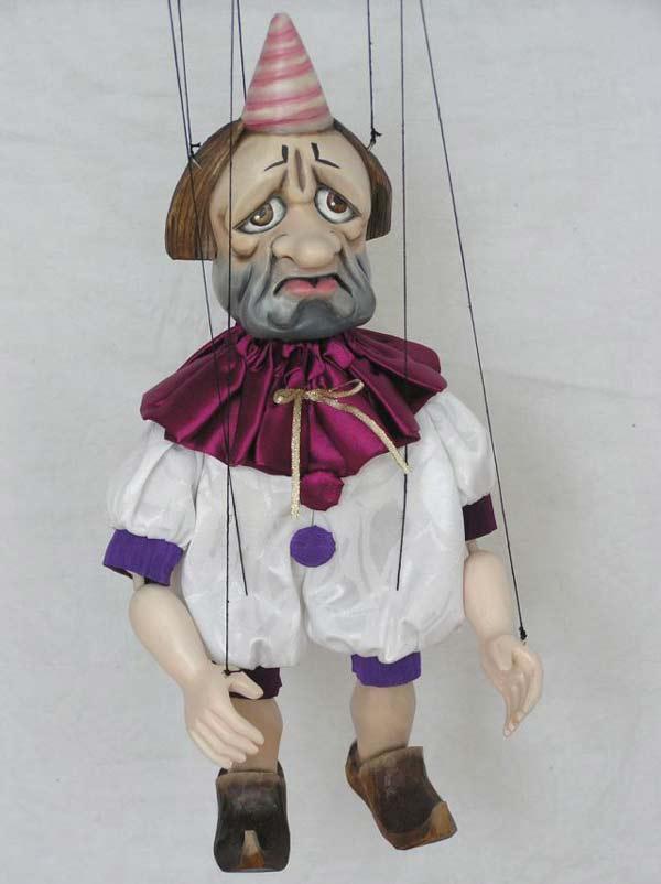 Pierrot marionnette poupée