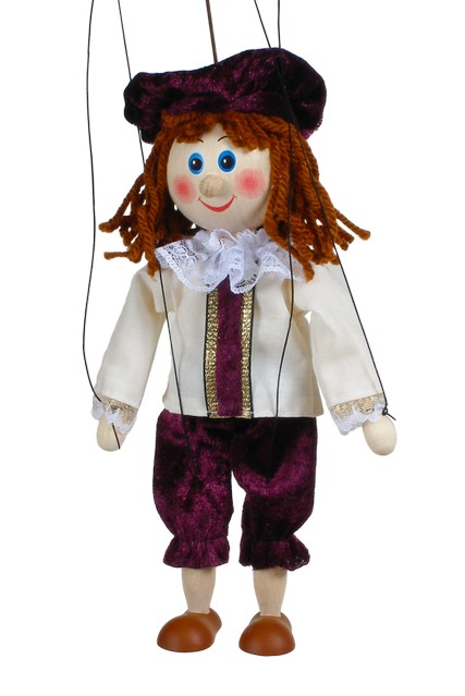 Prince marionnette poupée