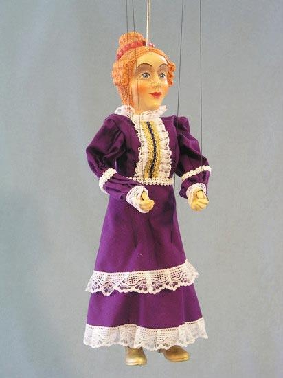 Reine , marionnette poupée