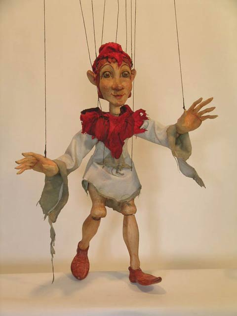 Robin des Bois , marionnette poupée
