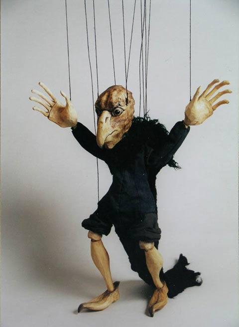 Ugly , marionnette poupée