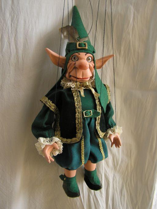 Vénitien gnôme marionnette poupée