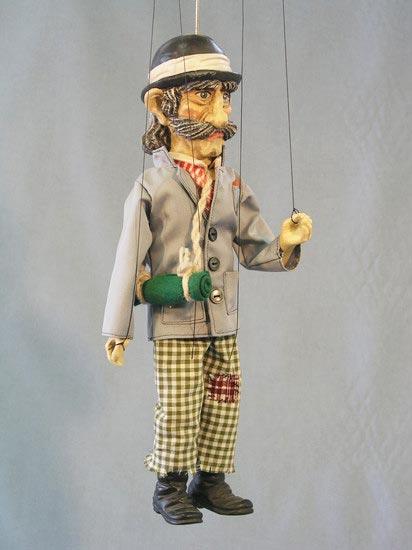 Voyageur marionnette poupée