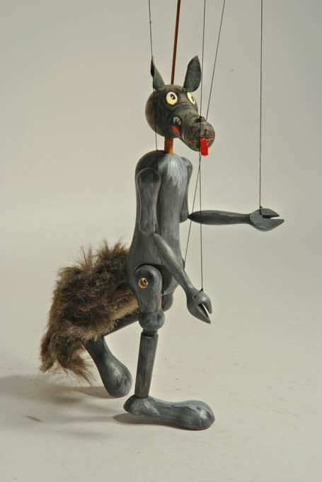 Loup marionnette