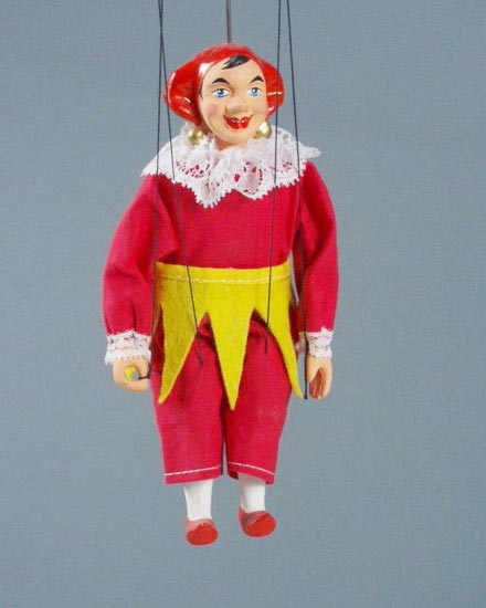 Bouffon marionnette