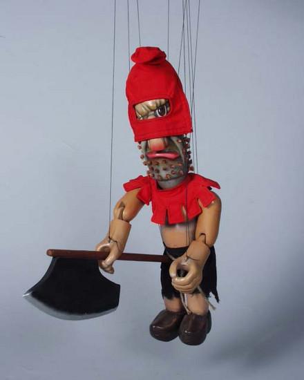 Bourreau marionnette poupée