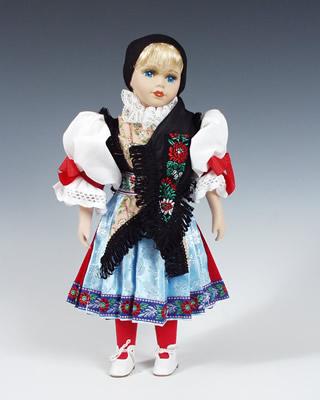 Chodka poupée tchèque