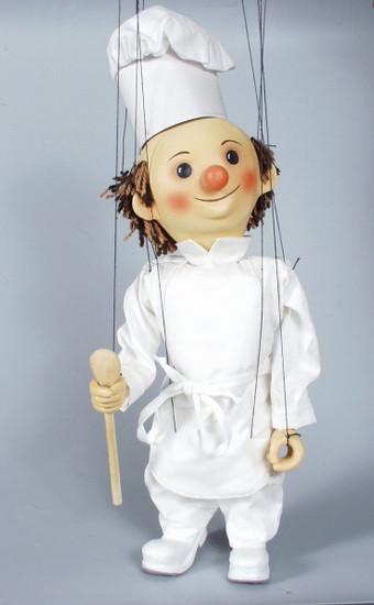 Cuisinier marionnette poupée