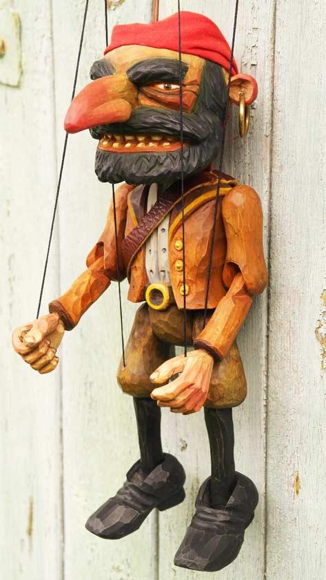 Le pirate marionnette
