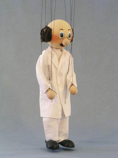Docteur marionnette poupée
