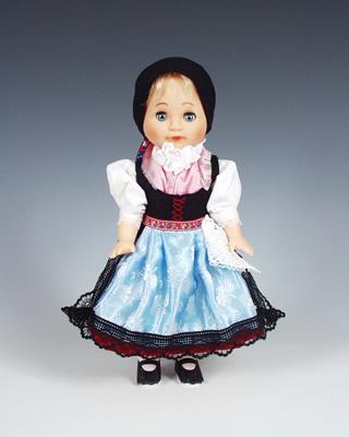Doudleby poupée tchèque