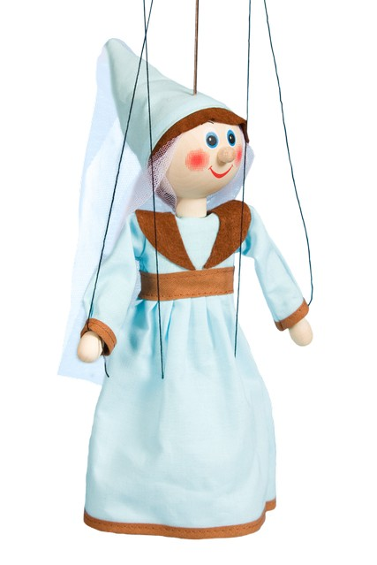 Fée marionnette poupée