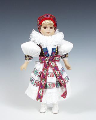 Hanacka poupée tchèque