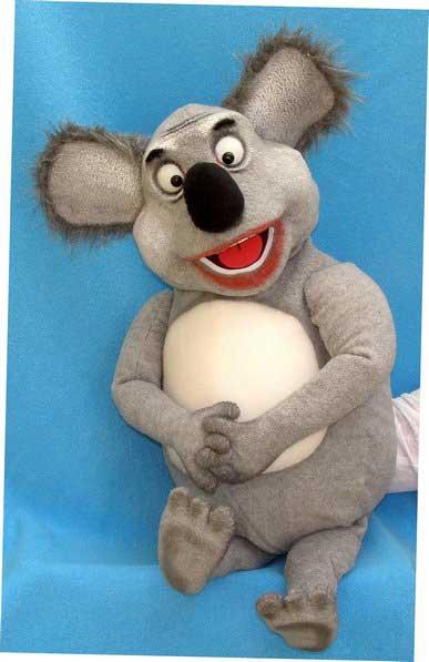 Koala marionnette poupée