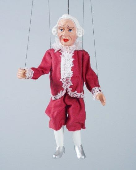 Laquais marionnette poupee