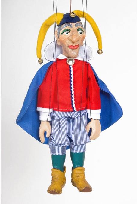 Bouffon Tom Le Roi Lear marionnette