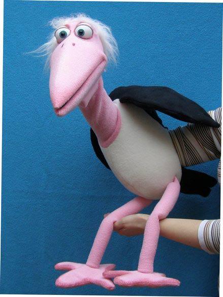 Marabout marionnette poupée